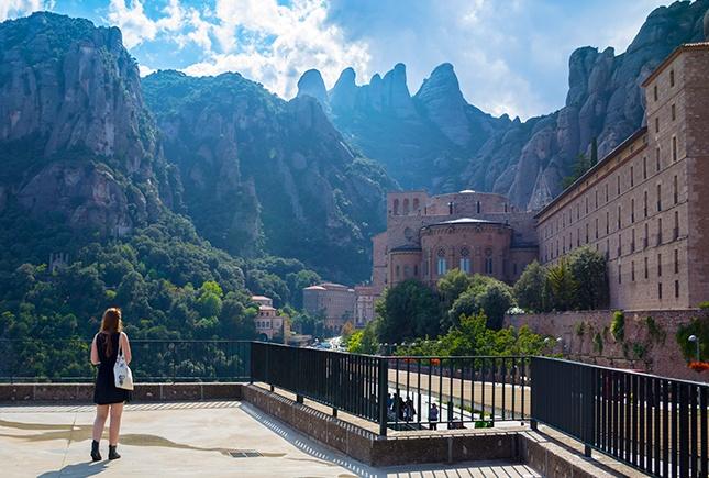Carte Barcelone Montserrat.Monastere De Montserrat Province De Barcelone Guide Et Photos