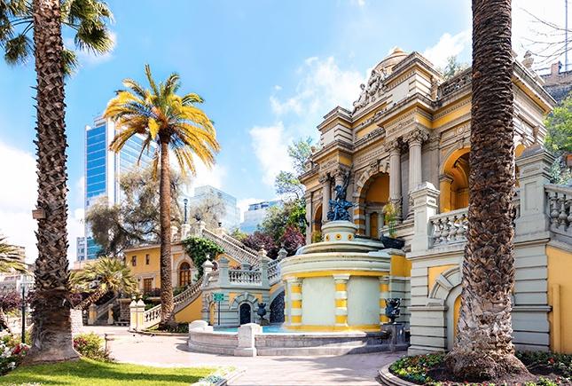 Santiago Du Chili Région De Santiago Et Valparaíso Guide Et